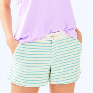 LILLY PULITZER Callahan Party Stripe Shorts size 0